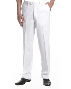 Vinci Men's Classic Flat Front Pants - Clearance