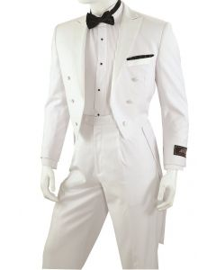 Vittorio St. Angelo Men's 2 Piece Outlet Tuxedo with Tails