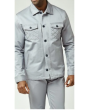 Stacy Adam's Men's 2 Piece Walking Suit - Denim Feel