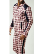 Stacy Adam's Men's 2 Piece Urban Walking Suit - Light Plaid