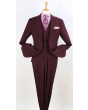 Royal Diamond Men's 3pc Poplin Outlet Suit - Double Pleated