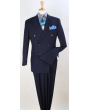 Apollo King Men's 2pc Double Breasted Suit - Double Pleated Pants