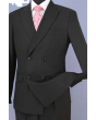 Loriano Men's Outlet 2pc Slim Fit Double Breasted Suit - Modern Style