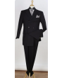 Apollo King Men's Outlet 3pc Double Breasted Suit -  Solid Colors