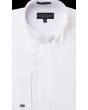 Daniel Ellissa Men's Banded Collar Clergy Outlet Shirt - French Cuff