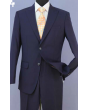 Loriano Men's 2pc Regular Fit Executive Suit - Peak Lapel